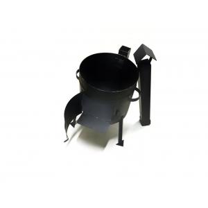 Печь под казан с трубой 340мм (для казана 8-10л)