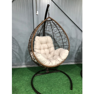 Подвесное кресло - кокон Большой + подушка Люкс
