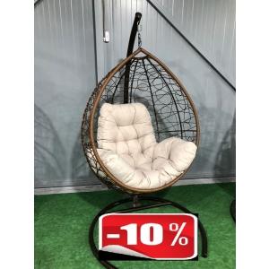 Подвесное кресло - кокон Маленький + подушка Люкс