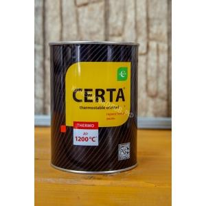 Эмаль термостойкая ЦЕРТА 0.8кг 750*С